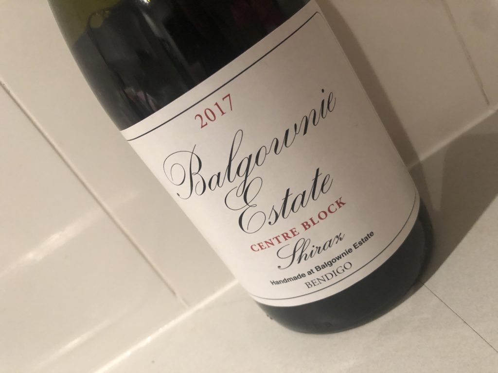 Balgownie Estate Centre Block Shiraz 2017