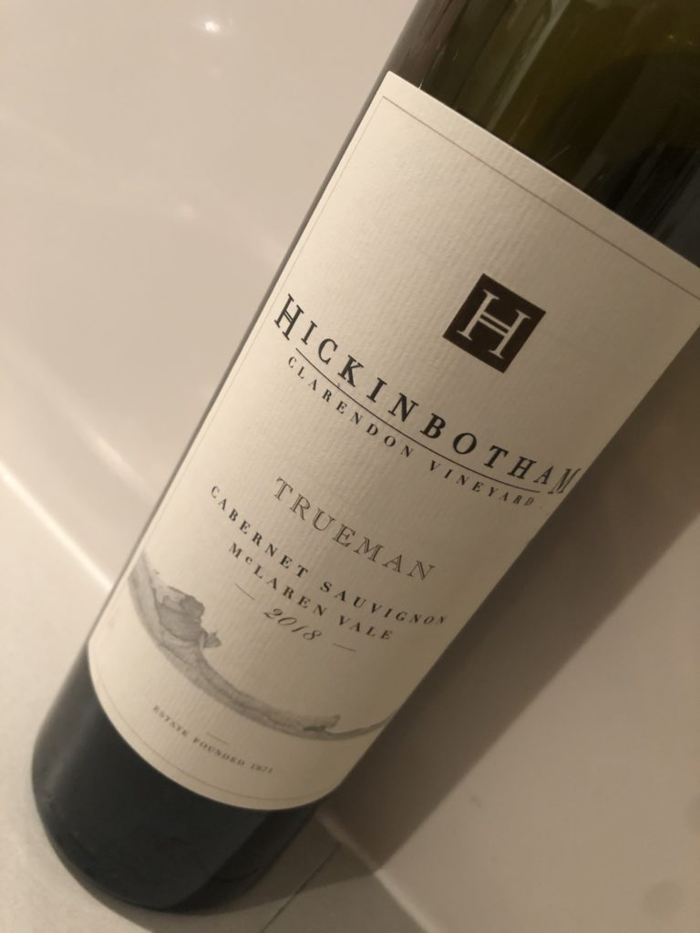 Hickinbotham Vineyard Trueman Cabernet Sauvignon 2018