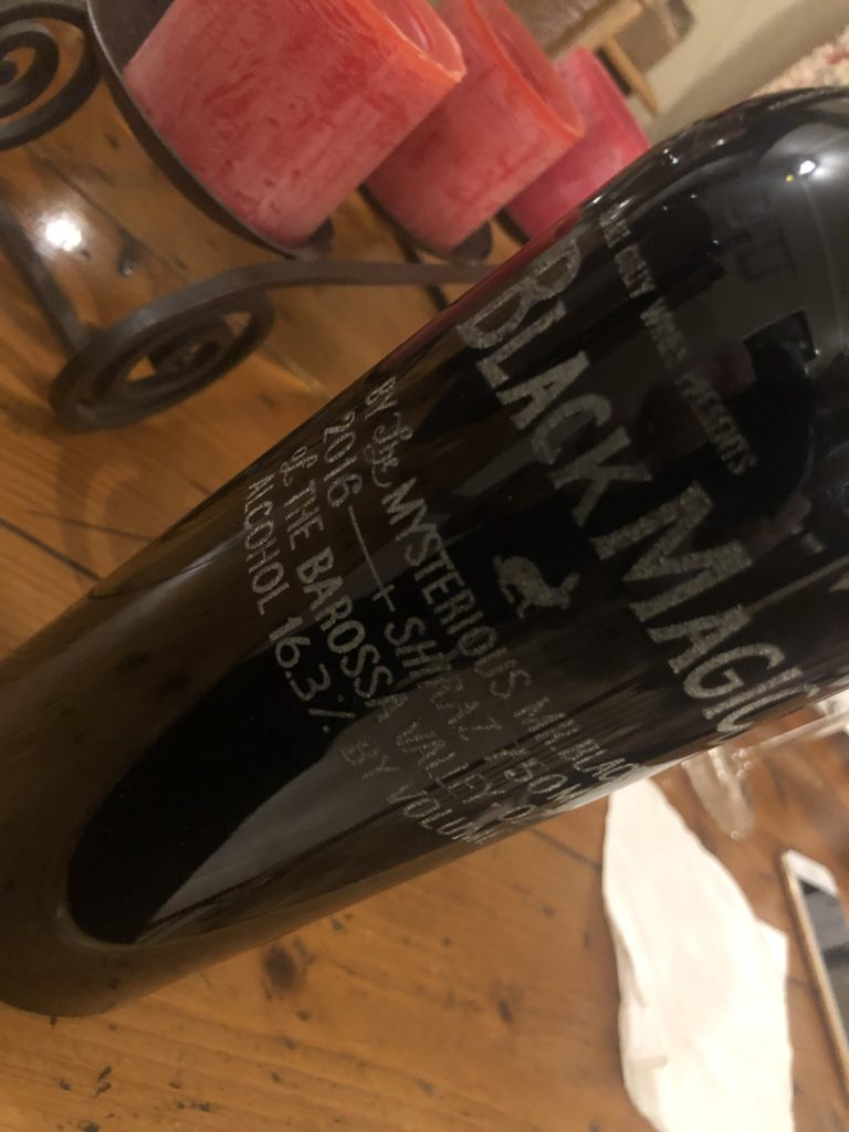 Small Gully Wines Black Magic Shiraz 2016