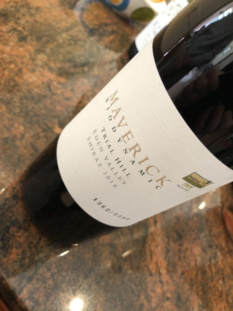 Maverick Trial Hill Eden Valley Shiraz 2016