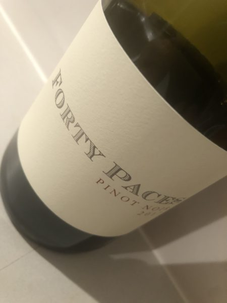 Forty Paces Pinot Noir 2017