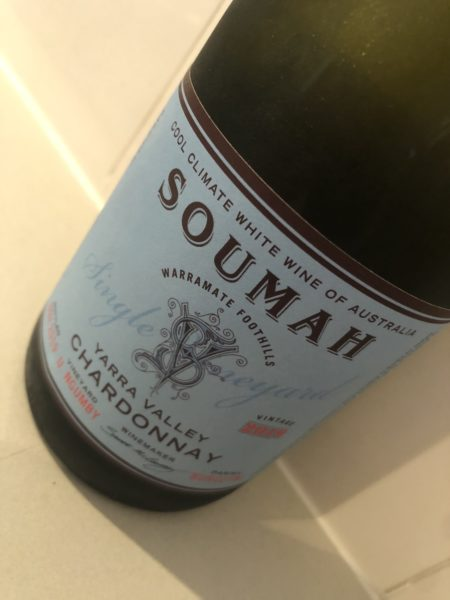 Soumah Single Vineyard Upper Ngumby Chardonnay 2019