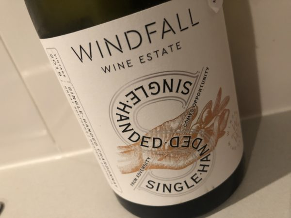 Windfall Wine Estate Single Handed Chardonnay 2019