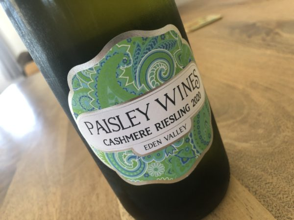 Paisley Wines Cashmere Riesling 2020