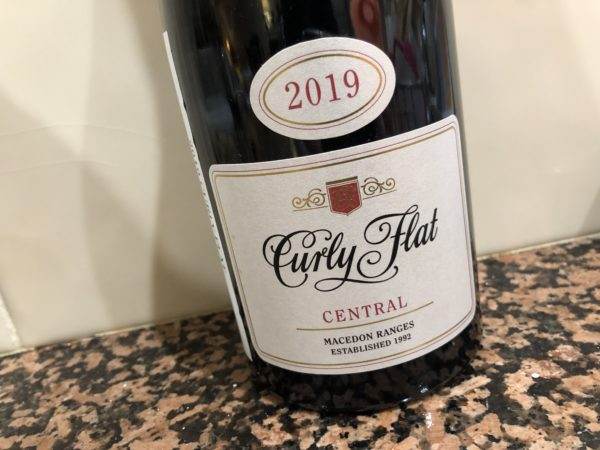 Curly Flat Central Pinot Noir 2019